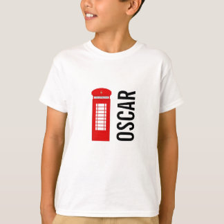 British Telephone Box Customisable Kids Tee