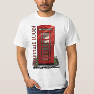 British Telephone Box Funny T-Shirt