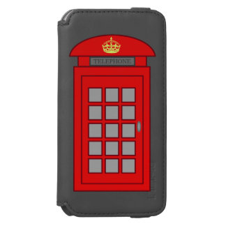 British Telephone Box Incipio Watson™ iPhone 6 Wallet Case