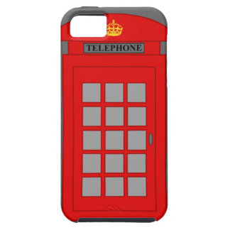 British Telephone Box iPhone 5 Cases