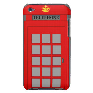 British Telephone Box iPod Touch Case-Mate Case