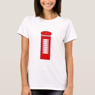 British Telephone Box Ladies Tee
