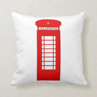 British Telephone Box/Union Jack Cushion