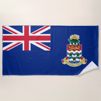 British Territory Cayman Island Flag Beach Towel