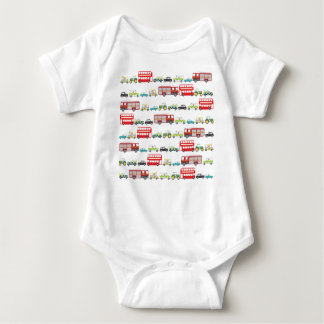 British Traffic Jam Baby Bodysuit