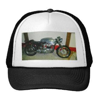 British Triton Motorcycle. Hat