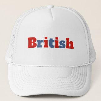 British Trucker Hat