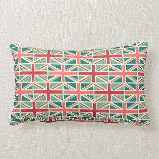 British/UK Flag Pattern Lumbar Pillow