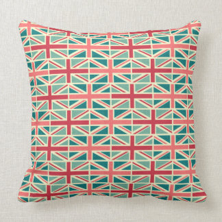 British/UK Flag Pattern Throw Pillow