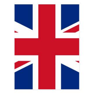 British - UK - Great Britain - Union Jack flag Postcard