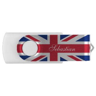 British UK United Kingdom Union Jack Flag USB Flash Drive