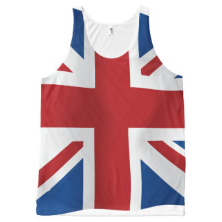 British Union Jack flag All-Over-Print Tank Top