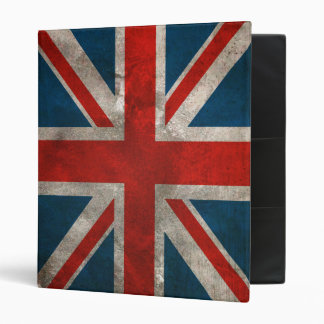 British Union Jack Flag Binder