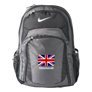 British Union Jack flag custom Nike backpack