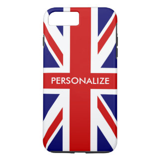 British Union Jack flag English pride personalized Case-Mate iPhone Case