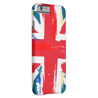 British Union Jack Flag Vintage Worn Barely There iPhone 6 Case