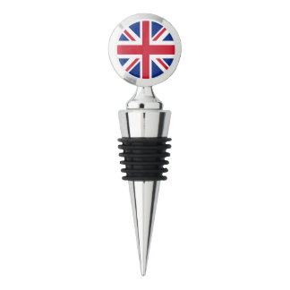 British Union Jack Flag Wine Stopper