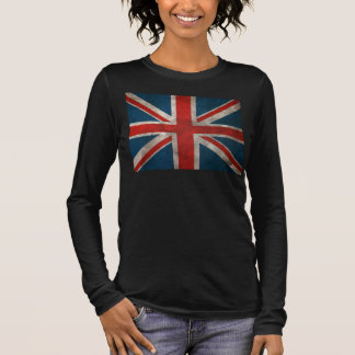 British Union Jack Long Sleeve T-Shirt