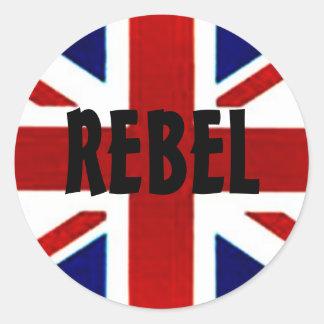 British Union Jack REBEL Sticker