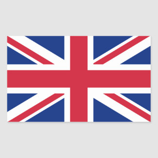 British Union Jack Sticker