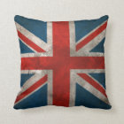 British Union Jack Throw Pillow