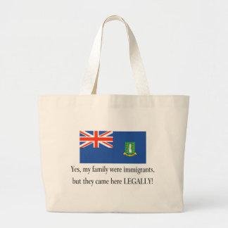 British Virgin Islands Canvas Bags