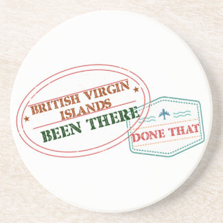 British Virgin Islands Been There Done That Coaster