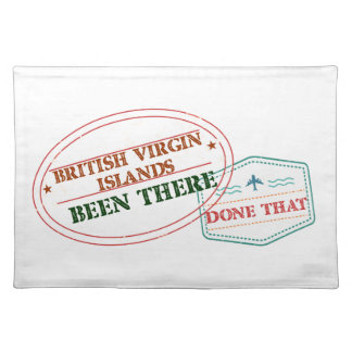 British Virgin Islands Been There Done That Placemat