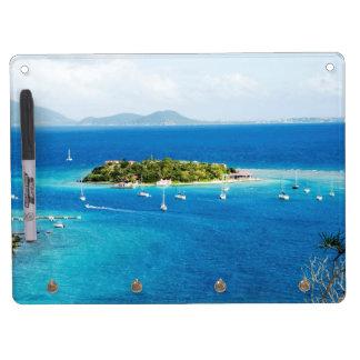 British Virgin Islands Dry Erase Board