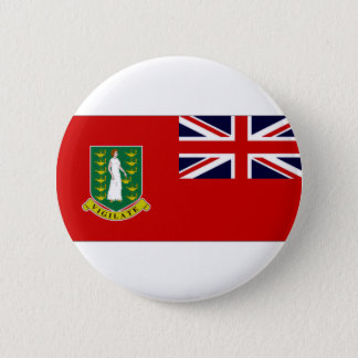 British Virgin Islands Flag 2 Inch Round Button