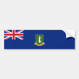 British Virgin Islands Flag. Britain, Overseas Bumper Sticker