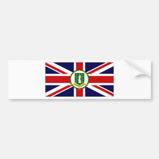 British Virgin Islands Flag Bumper Stickers
