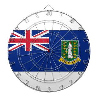 British Virgin Islands Flag Dartboard