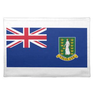 British Virgin Islands Flag Placemat
