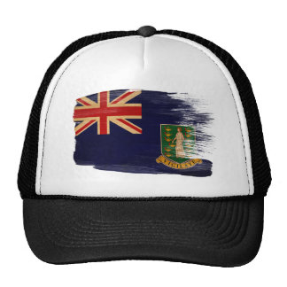 British Virgin Islands Flag Trucker Hat