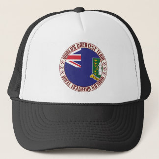 British Virgin Islands Greatest Team Trucker Hat