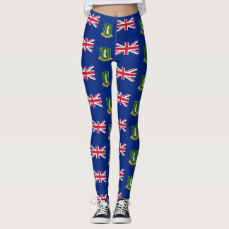 British Virgin Islands Leggings