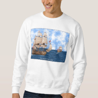 British Warships At Sea Sweatshirt