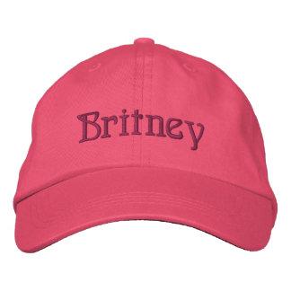 BRITNEY Name Designer Cap