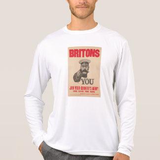 Britons Lord Kitchener Wants You WWI Propaganda Shirt
