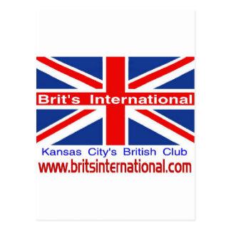 Brit's International Postcard
