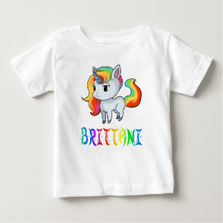 Brittani Unicorn Baby T-Shirt