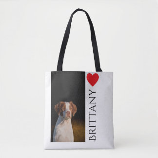 Brittany Breed Tote Bag