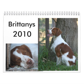 Brittany Calendar 2010