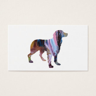 Brittany Dog Art Business Card