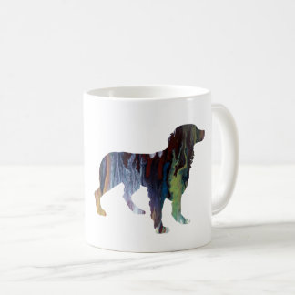 Brittany Dog Art Coffee Mug