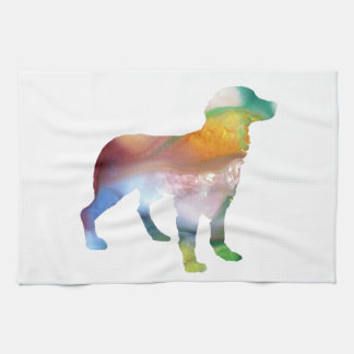 Brittany Dog Art Kitchen Towel