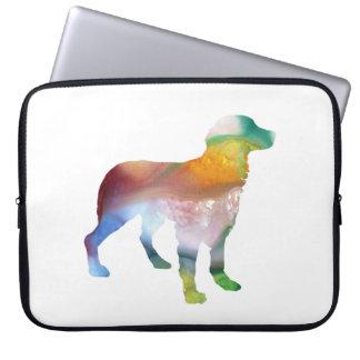 Brittany Dog Art Laptop Sleeve