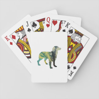 Brittany Dog Art Playing Cards