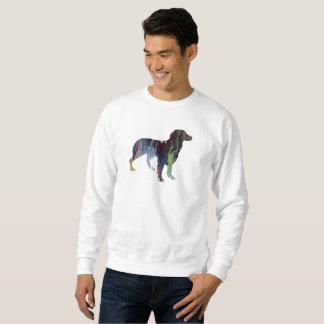 Brittany Dog Art Sweatshirt